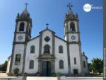 Blick auf die Igreja Matriz de Sao Miguel in Apulia