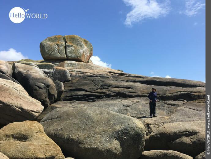 Felsenmeer an der Costa da Morte
