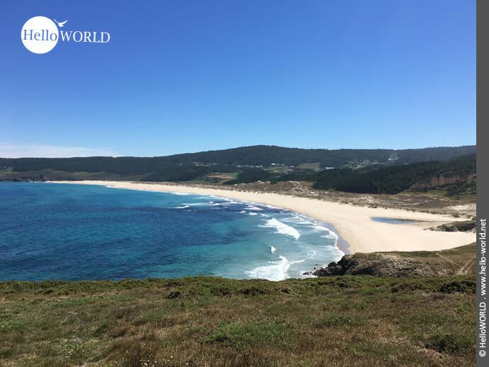 Weißer Traumstrand: der Praia do Rosto