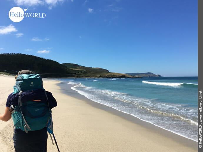 Küstenfeeling auf der Wanderschaft Richtung Finisterre