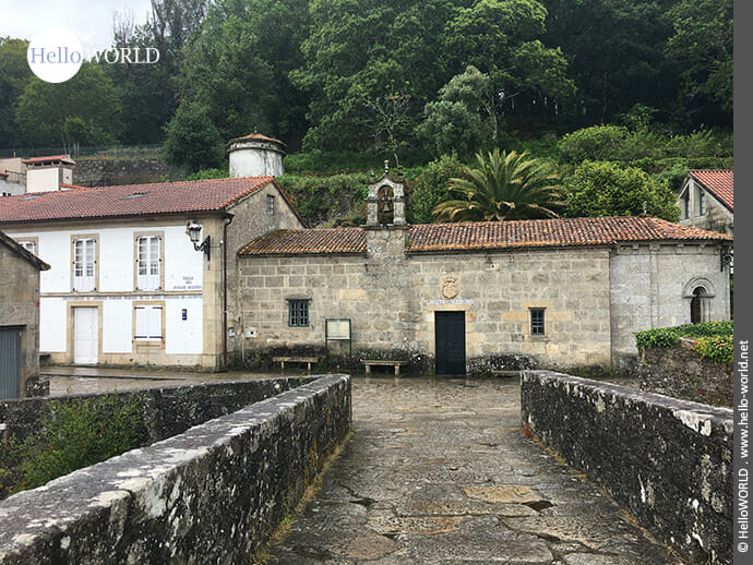 Ermida de San Brais am Ende der Ponte Maceira