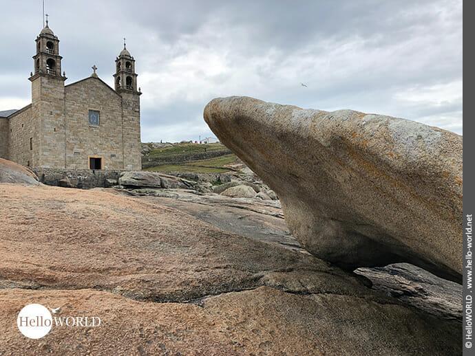 "Faszinierender Anblick: das ""Heiligtum A Nosa Senora da Barca"""