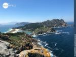 Sensationelle Sicht auf die Cies Inseln
