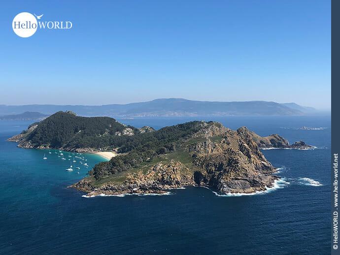 Nur aus der Ferne zu betrachten: die Illa de San Martino