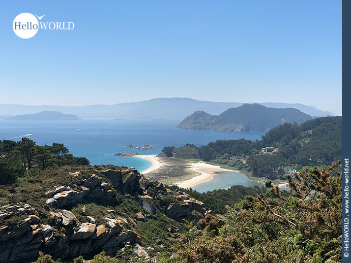 Traumhafter Ausblick vom Mirador der Isla de Monteagudo