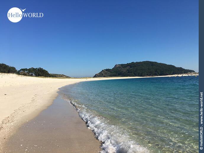 """2007 ausgezeichnet als """"schönster Strand der Welt""""..."""