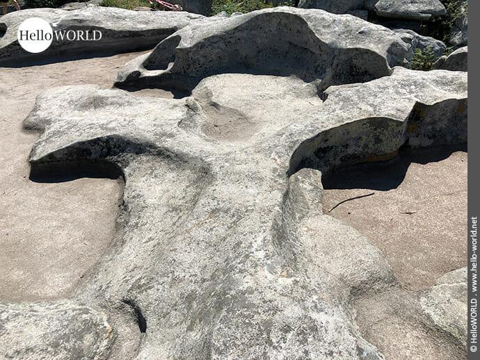 Interessante Steinformation