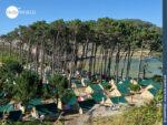 Limitierte Schlafplätze: Camping auf den Cies Inseln