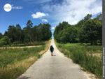 Landschaftliches Highlight beim Camino Portugues Rundwanderweg