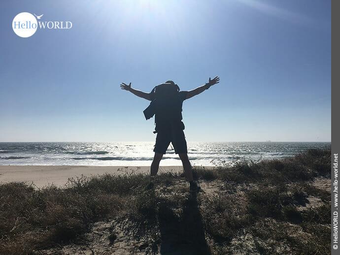 Ein Traum: der Camino Portugues Rundwanderweg an der Küste