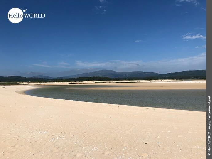 Ohne Worte: der Playa de Corrubedo bei Ribeira
