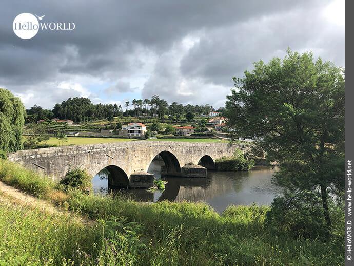 Über diese Brücke muss man gehen: Ponte do Ave