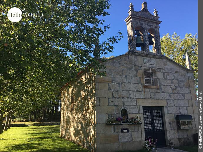 Charmante Kapelle in der Ria de Muros e Noia
