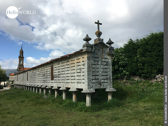 Knapp 35 Meter lang: Horreo de Carnota in den Rias Baixas