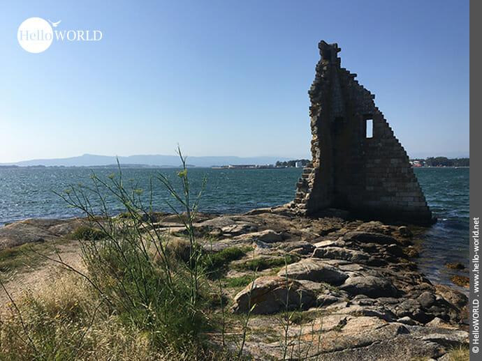 Der Torre San Sadurnino: einer der größten Schätze von Cambados
