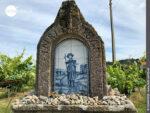Mauerwerk auf dem Camino Portugues Rundwanderweg