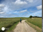 Landschaft auf dem Camino Portugues Rundwanderweg