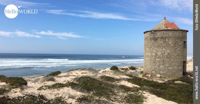 Eindrücke vom Caminho Portugues entlang der Küste.