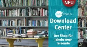 Hier sieht man den Promobanner für das DownloadCenter von HelloWorld.