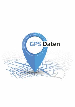 Dies ist das blaue Icon für die GPS Daten für den Camino Portugues.