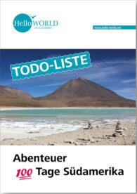 Dieses Bild zeigt einen Berg in der Salzwüste Perus