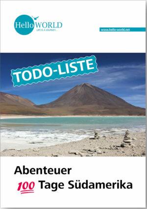 Hier sieht man den Titel der ToDo-Liste zur Planung einer Südamerika-Reise