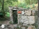Ruine eines Steinmühlenhauses auf der Variante Espiritual
