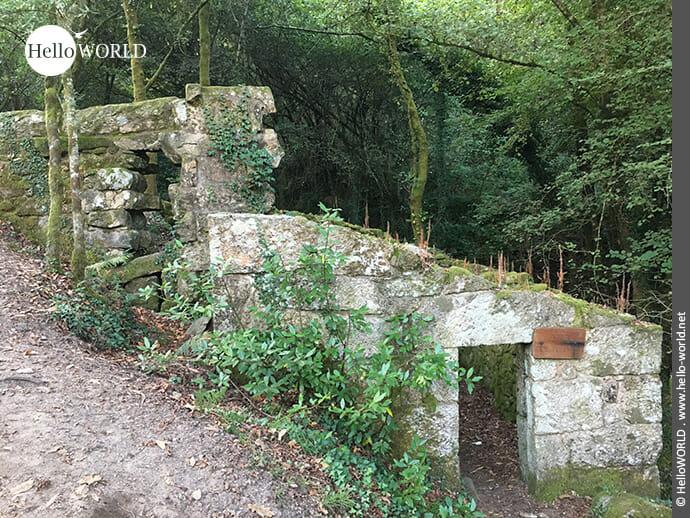 Ruinen am Rande: Abbild längst vergangener Zeiten