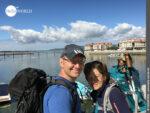 Vilanova de Arousa: letzter Zwischenstopp bei der Variante Espiritual