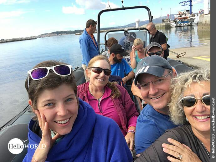 Auf dem Seeweg nach Pontecesures: Highlight der Variante Espiritual
