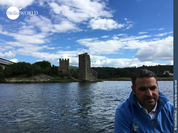 Sehenswürdig: Torres de Oeste am Rande der Ria de Arousa