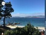 Blauer Himmel, blaues Meer: der Camino Portugues Küstenweg vor Vigo