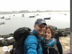 Selfietime auf dem Camino Portugues Küstenweg