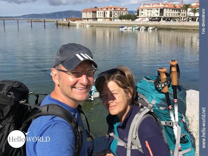 Vorfreude auf den Seeweg des Camino Portugues