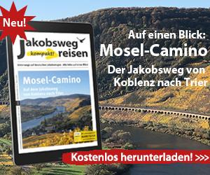 Hier sieht man die Webanzeige für den Download Mosel-Camino