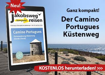 Camino Portugues Küstenweg eMagazin Werbebanner