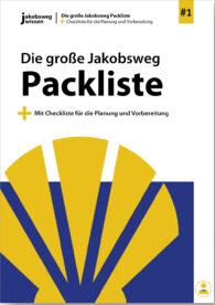 Hier sieht man den Titel für den Download der Jakobsweg Packliste.