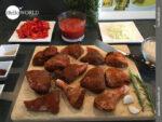 Mise en place für die Paella á la HelloWorld