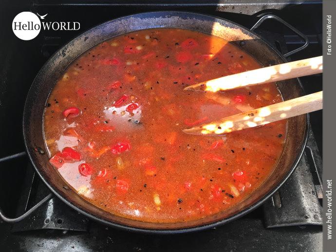 Paella á la HelloWorld . Zubereitung Schritt 6