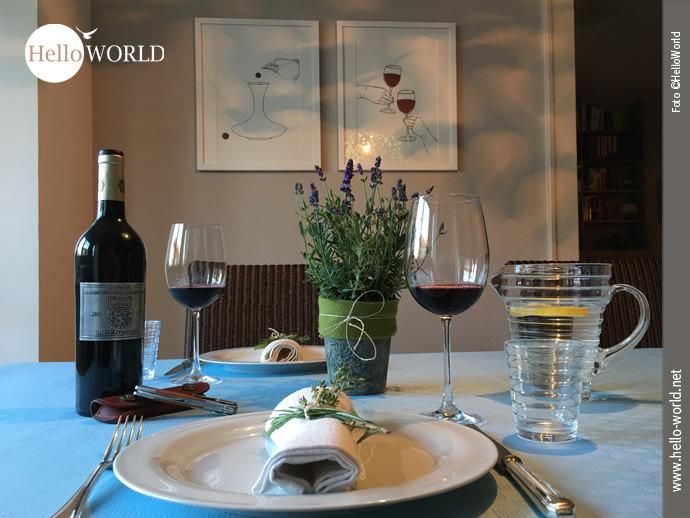 HelloWorld Kulinarisch: Der gedeckte Tisch