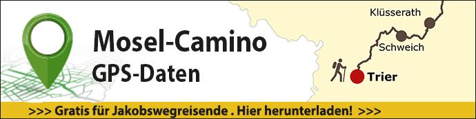 Das ist der Banner für die GPS Daten des Mosel-Caminos.