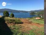 Wunderbarer Blick auf die Meeresbucht Ria de Vigo