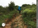 """""""Abstieg"""" bei Regen am spanischen Küstenweg"""