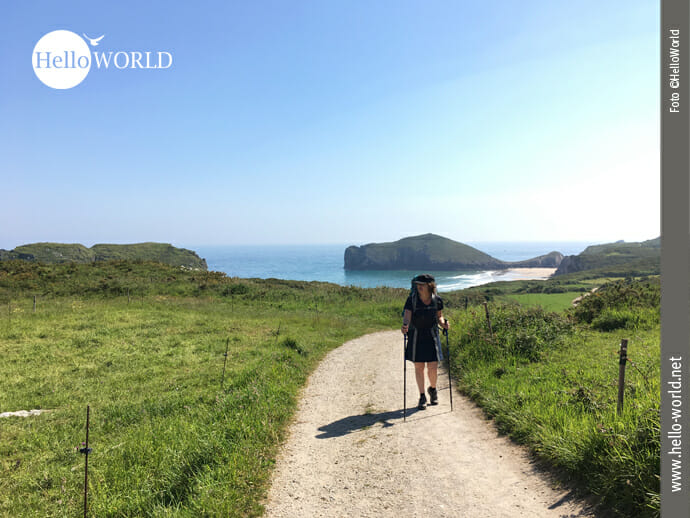 Ein wunderschöner Wandertag Richtung Ribadesella