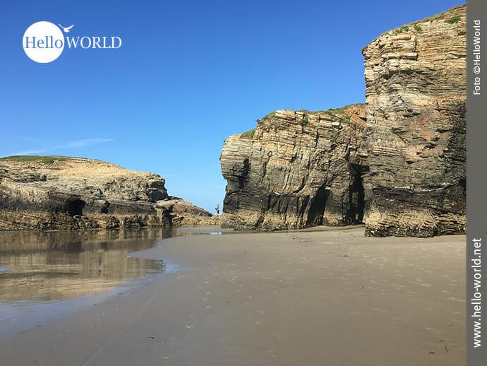 Nordspanische Touristenattraktion: Praia das Catedrais