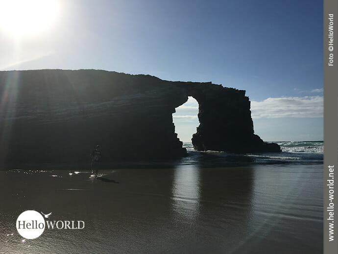 Formvollendet: Felsen am Praia das Catedrais