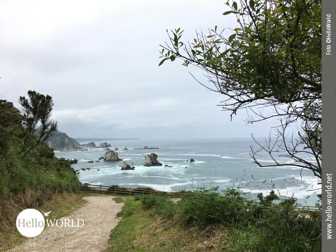 Ausblick auf den Atlantik