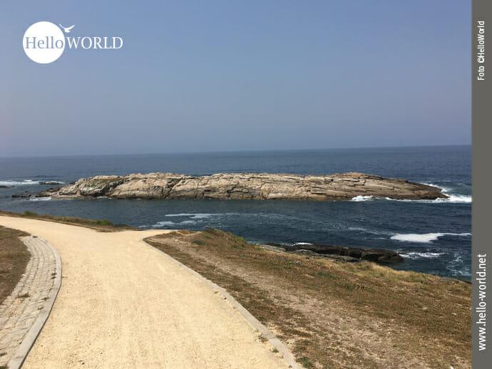 Ausgebauter Weg Richtung Arteixo