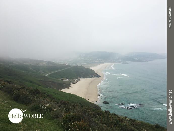 Praia de Cambouzas an der spanischen Nordküste
