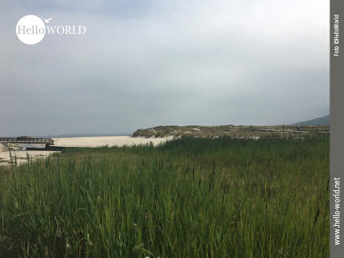 Der Praia de Barranan im Fokus